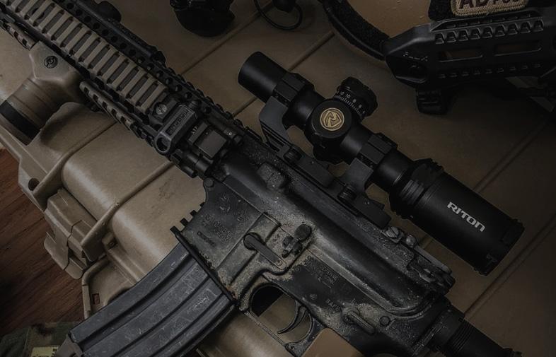 Shot Show 2019 Military Day Riton Optics
